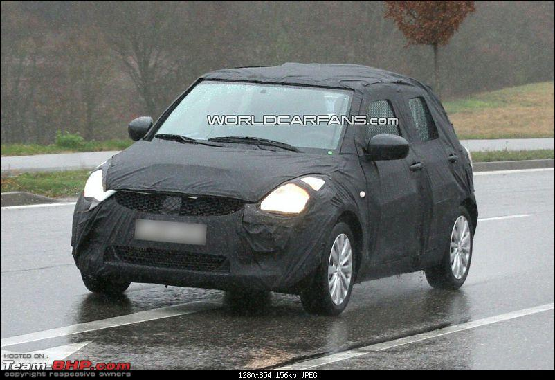 Spyshots: 2010-2011 Maruti Suzuki Swift 2. EDIT: More pics on pg 8 & pg 16!-ns-8a.jpg