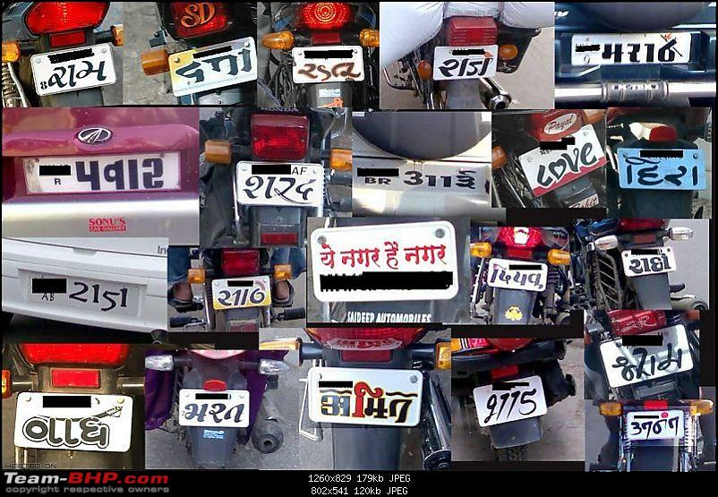 Number plates in languages other than English - Page 2 - Team-BHP
