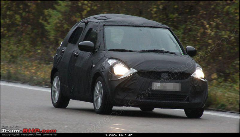 Spyshots: 2010-2011 Maruti Suzuki Swift 2. EDIT: More pics on pg 8 & pg 16!-s5.jpg
