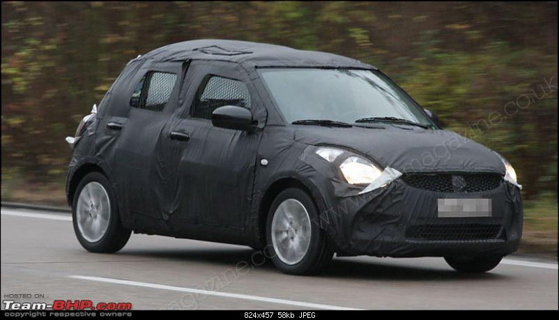 Spyshots: 2010-2011 Maruti Suzuki Swift 2. EDIT: More pics on pg 8 & pg 16!-s6.jpg