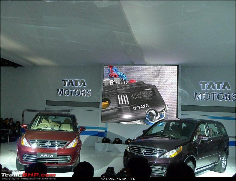 Pics: Tata Motors unveil the Aria (Indicruze) at the Auto Expo 2010. Video: Pg 52-05.jpg