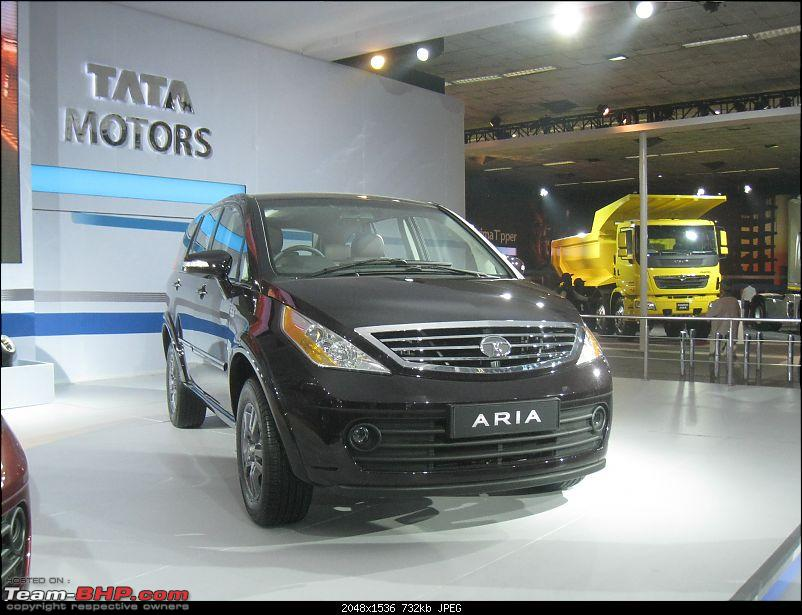 Pics: Tata Motors unveil the Aria (Indicruze) at the Auto Expo 2010. Video: Pg 52-img_2452.jpg