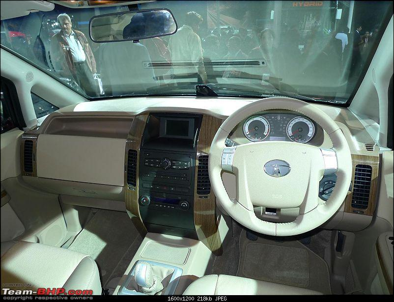 Pics: Tata Motors unveil the Aria (Indicruze) at the Auto Expo 2010. Video: Pg 52-p1030504.jpg