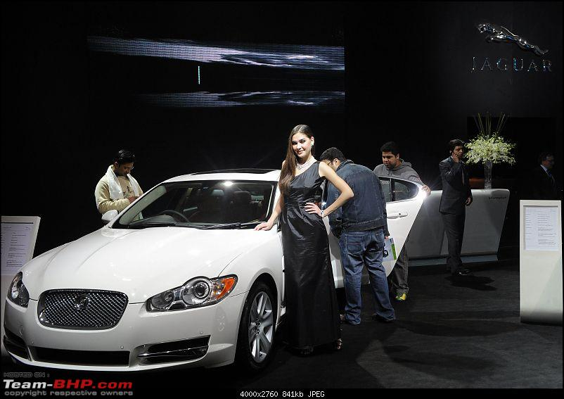 Jaguar and Land Rover at the Auto Expo 2010-6643720108.jpg