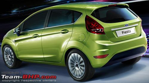 the new Ford Fiesta hatch.