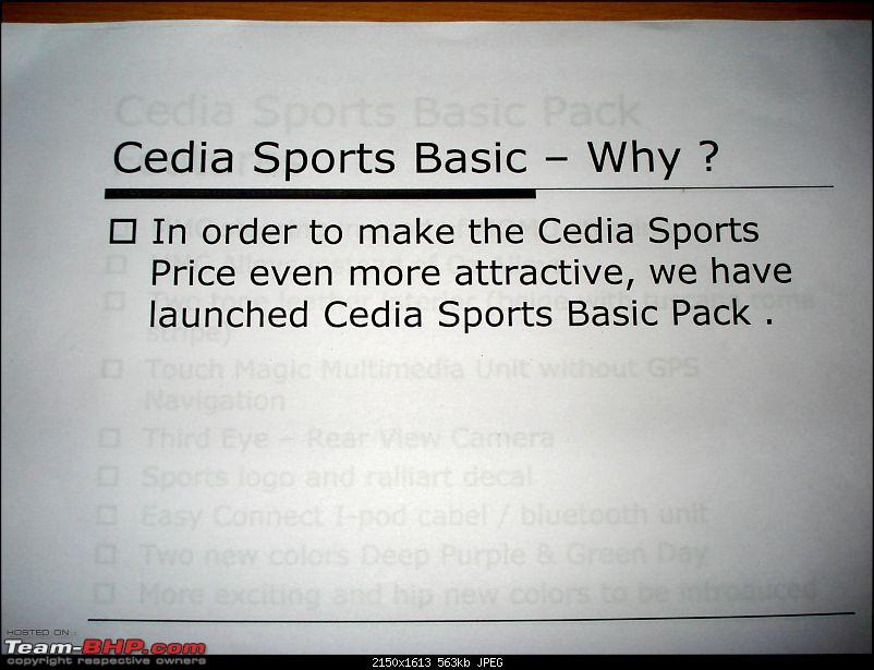 Cedia Spirit relaunched as cedia sports basic at Rs. 9,30,000-dsc03830.jpg
