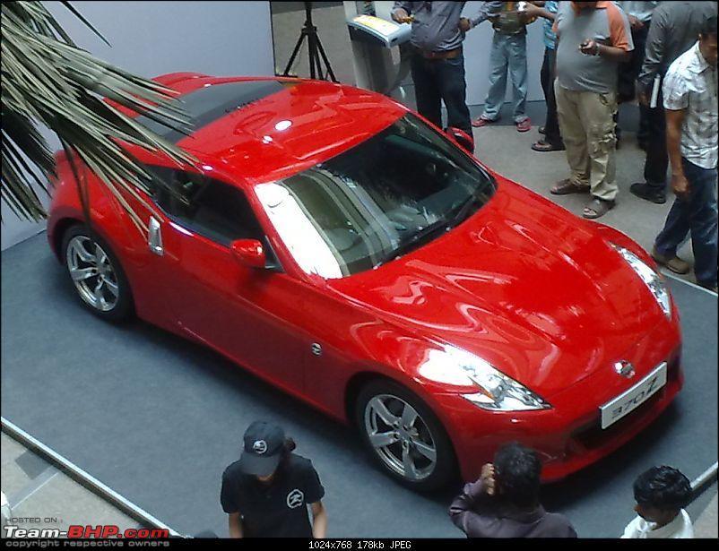 Report & Pics: Nissan 370Z launch in Mumbai + display in various cities-07032010320.jpg