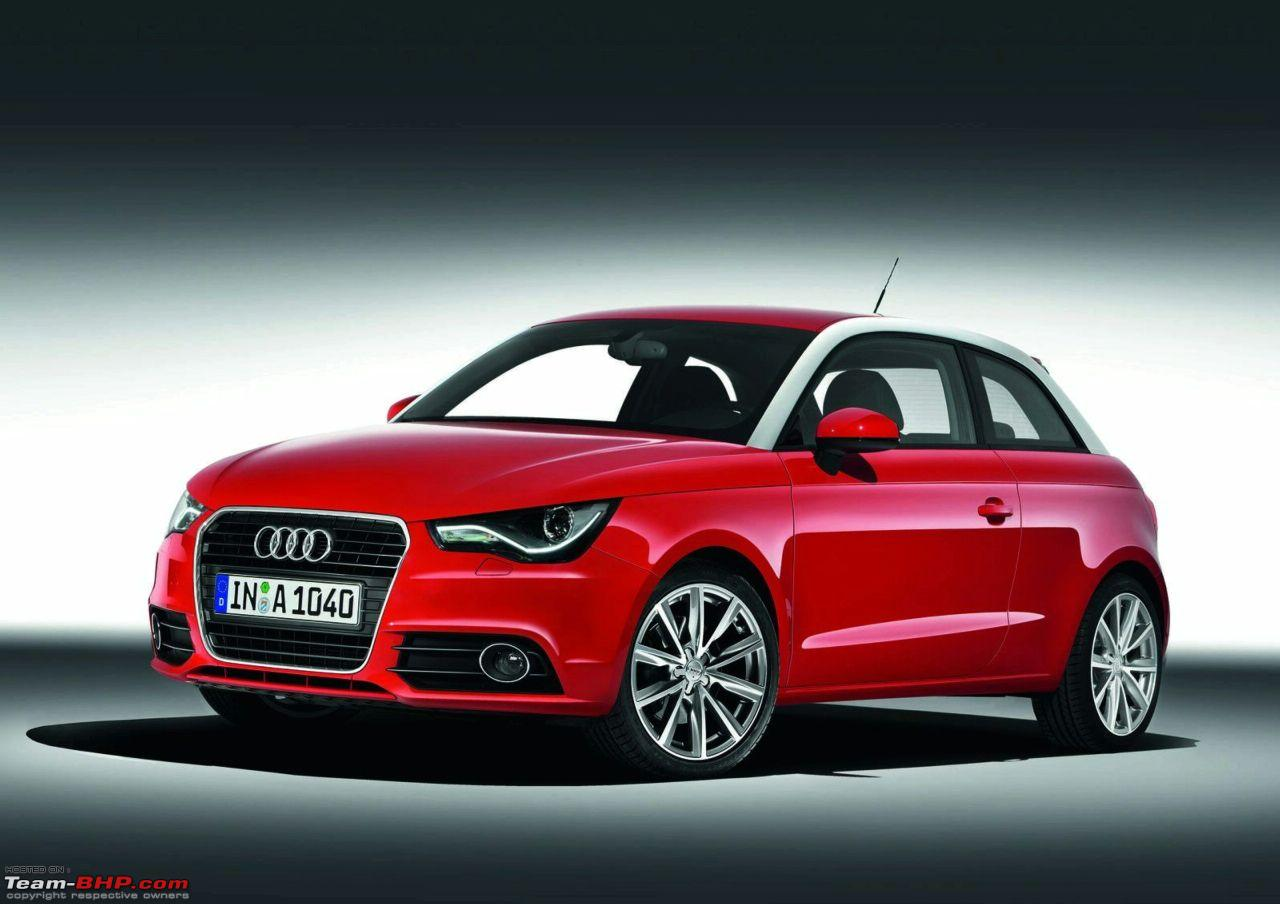 Audi A1 To Be Launched In India Team Bhp