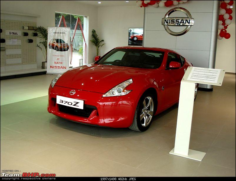 Report & Pics: Nissan 370Z launch in Mumbai + display in various cities-dsc04273.jpg