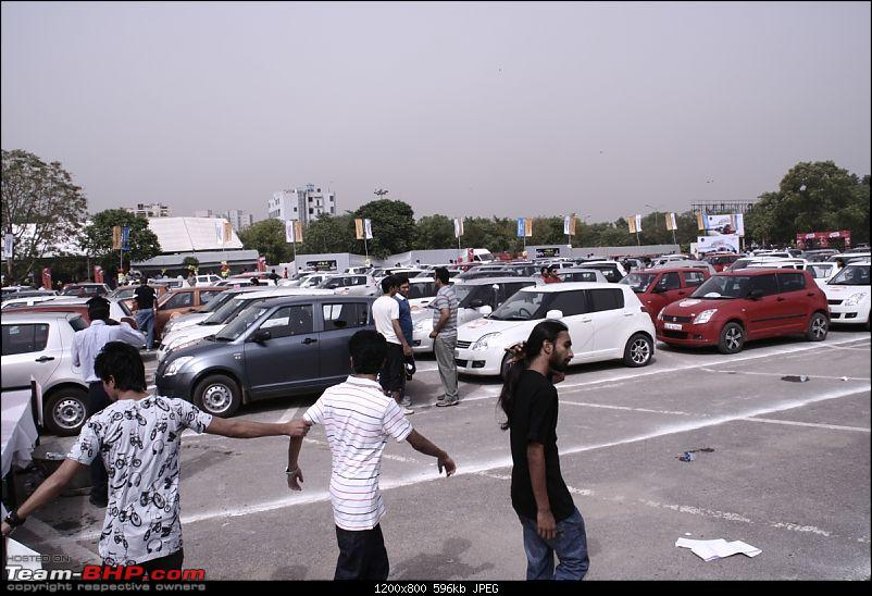Maruti Swift trying to set a Guinness Record. Edit: Badly Organized. Details on Pg 4-_mg_3198.jpg