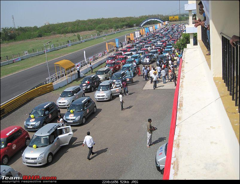 Maruti Swift trying to set a Guinness Record. Edit: Badly Organized. Details on Pg 4-swift-event-074.jpg