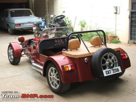 The Barchetta Scorpion! A Caterham Replica made in India!  TeamBHP