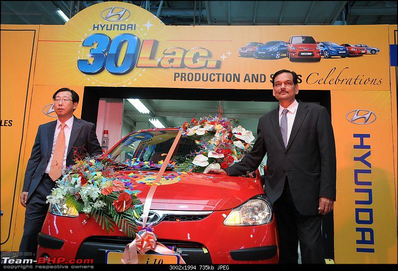 Hyundai offers cashless ownership on Santro / i10. And rolls out 3,000,000 Indian car-dsc_8464.jpg