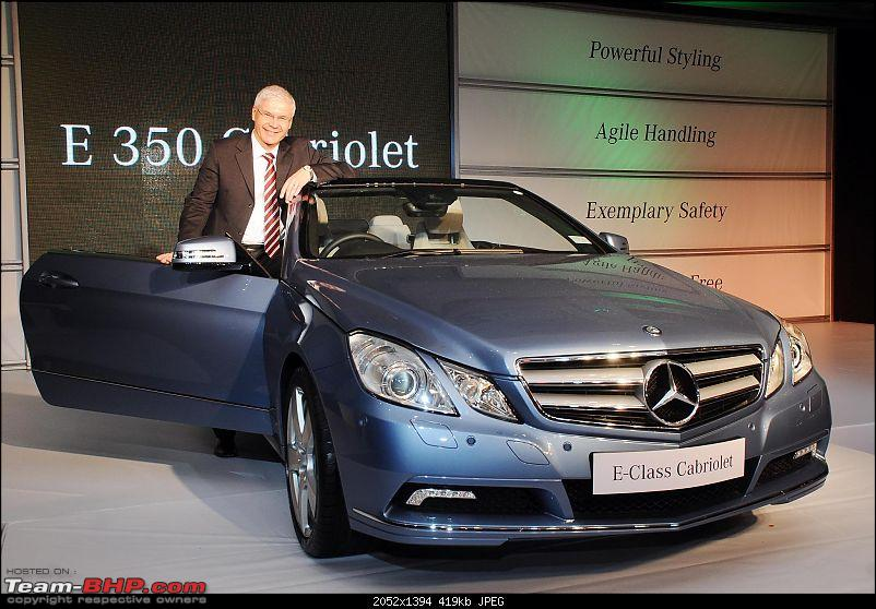 Mercedes Benz launches the E350 Cabriolet in India-pic-1.jpg