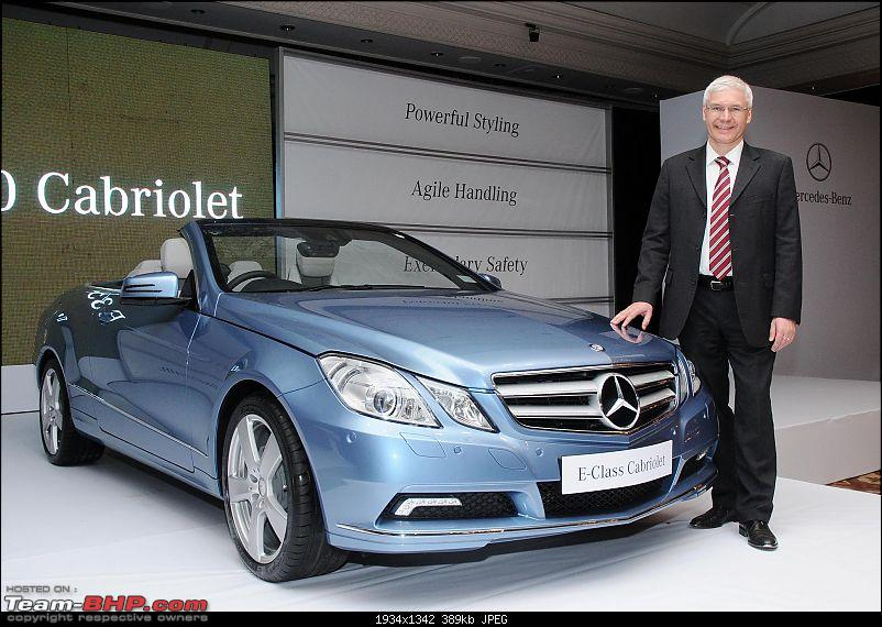 Mercedes Benz launches the E350 Cabriolet in India-pic-2.jpg