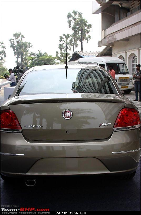 FIAT Linea T-Jet: 1.4L Turbo Petrol. EDIT: Now launched-phpmz7dkalineatjetrear.jpg