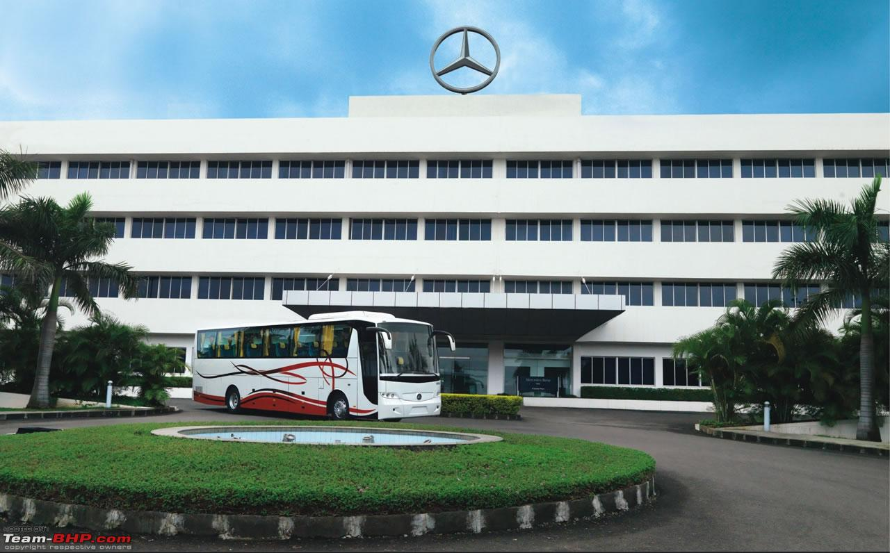 the Mercedes-Benz buses