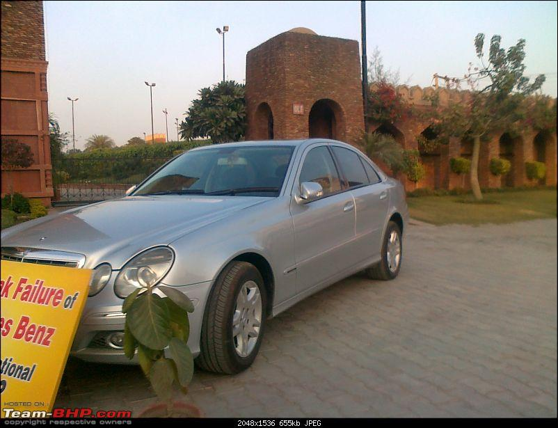This Guy is certainly  Peeved with his very expensive purchase (Mercedes - E Class)-07122010034.jpg
