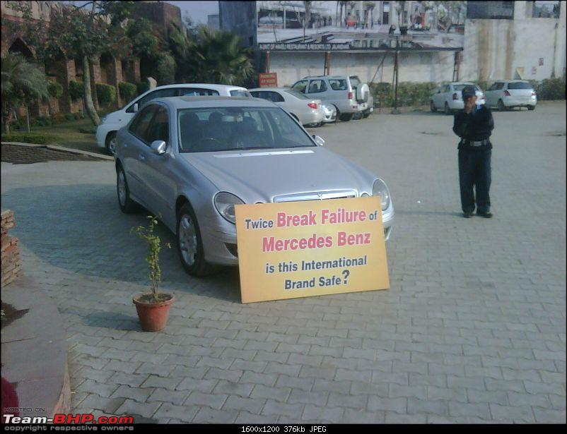 This Guy is certainly  Peeved with his very expensive purchase (Mercedes - E Class)-haveli_owners_e280_jalandhar-3.jpg