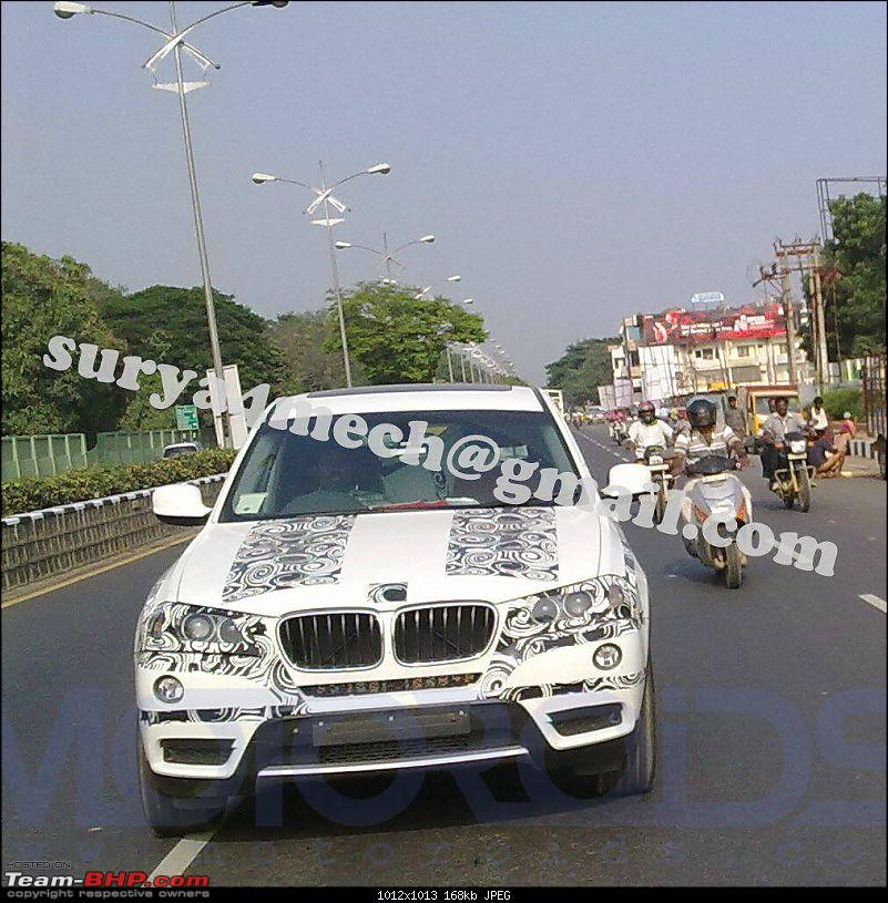 Scoop Shots: 2011 BMW X3 from Chennai-bmwx1spypictureschennai.jpg