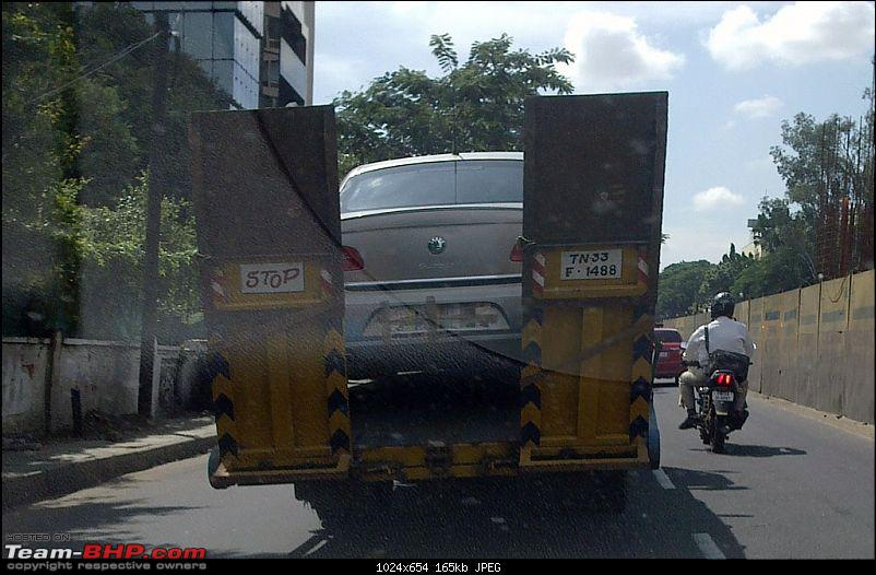 PICS : How flatbed tow trucks would run out of business without German cars!-09112010004.jpg