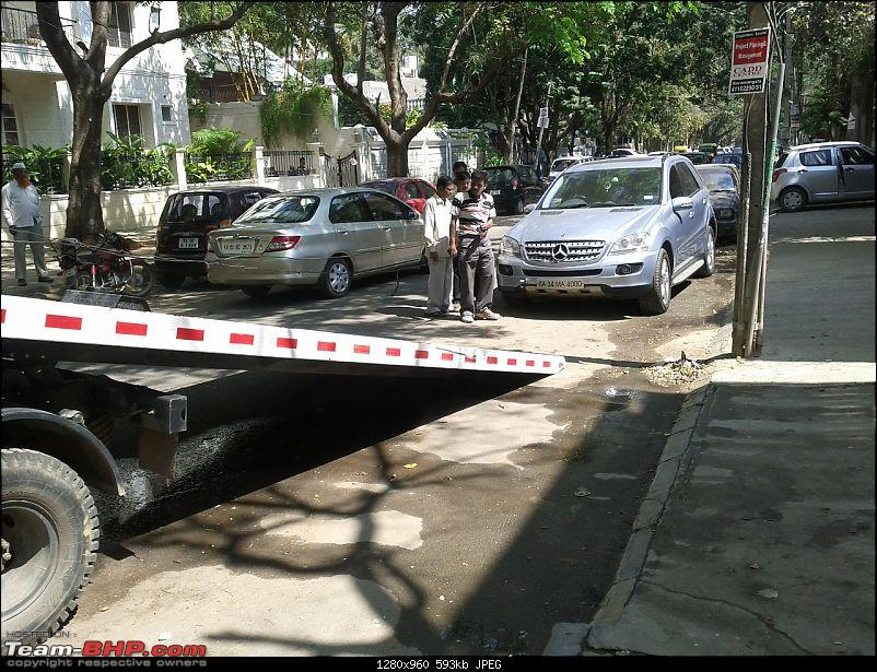 PICS : How flatbed tow trucks would run out of business without German cars!-mercmlflatbed.jpg