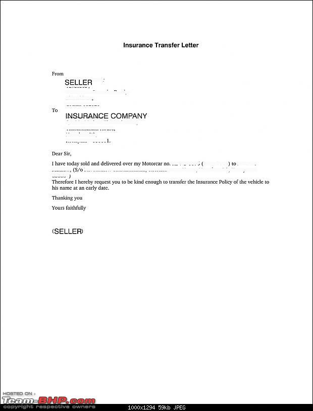 Full Coverage Car Insurance >> Need Advice - Car sold but not transferred - Page 2 - Team-BHP