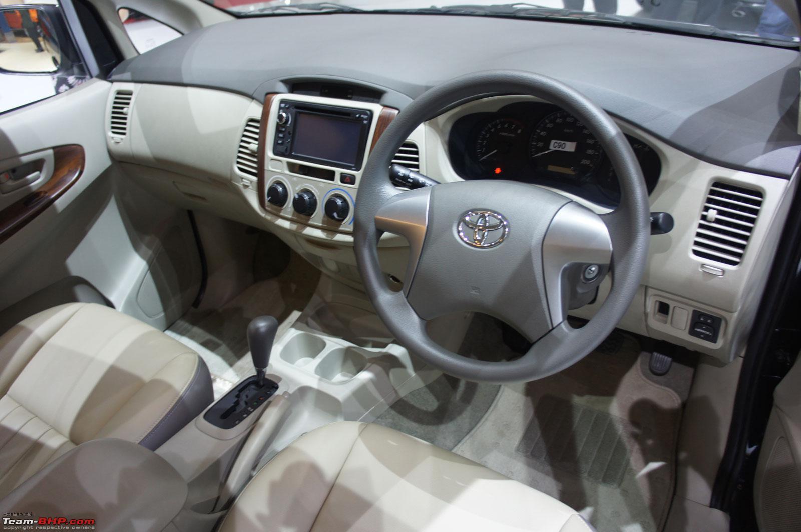 2012 Toyota Innova Facelift Unveiled Internationally
