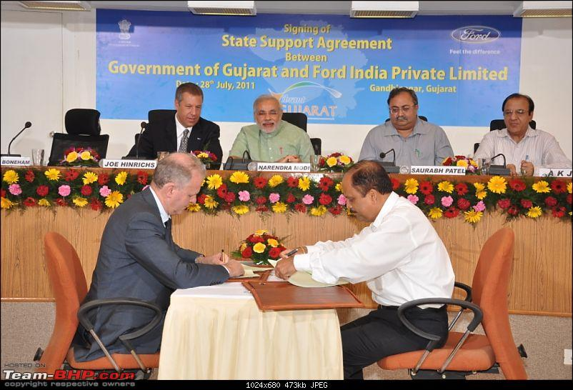 "Ford says ""Namaste Gujarat""! Announces Manufacturing and Engine plant in GJ-ford-gujarat-mou.jpg"
