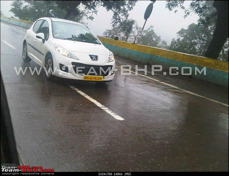SCOOP Pics : Peugeot (207, 508) spotted testing on the MH Expressway-peugeot-scoop4.jpg