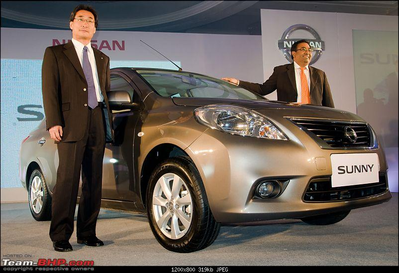 Nissan Sunny unveiled for the the Indian mid-size market.-01.jpg