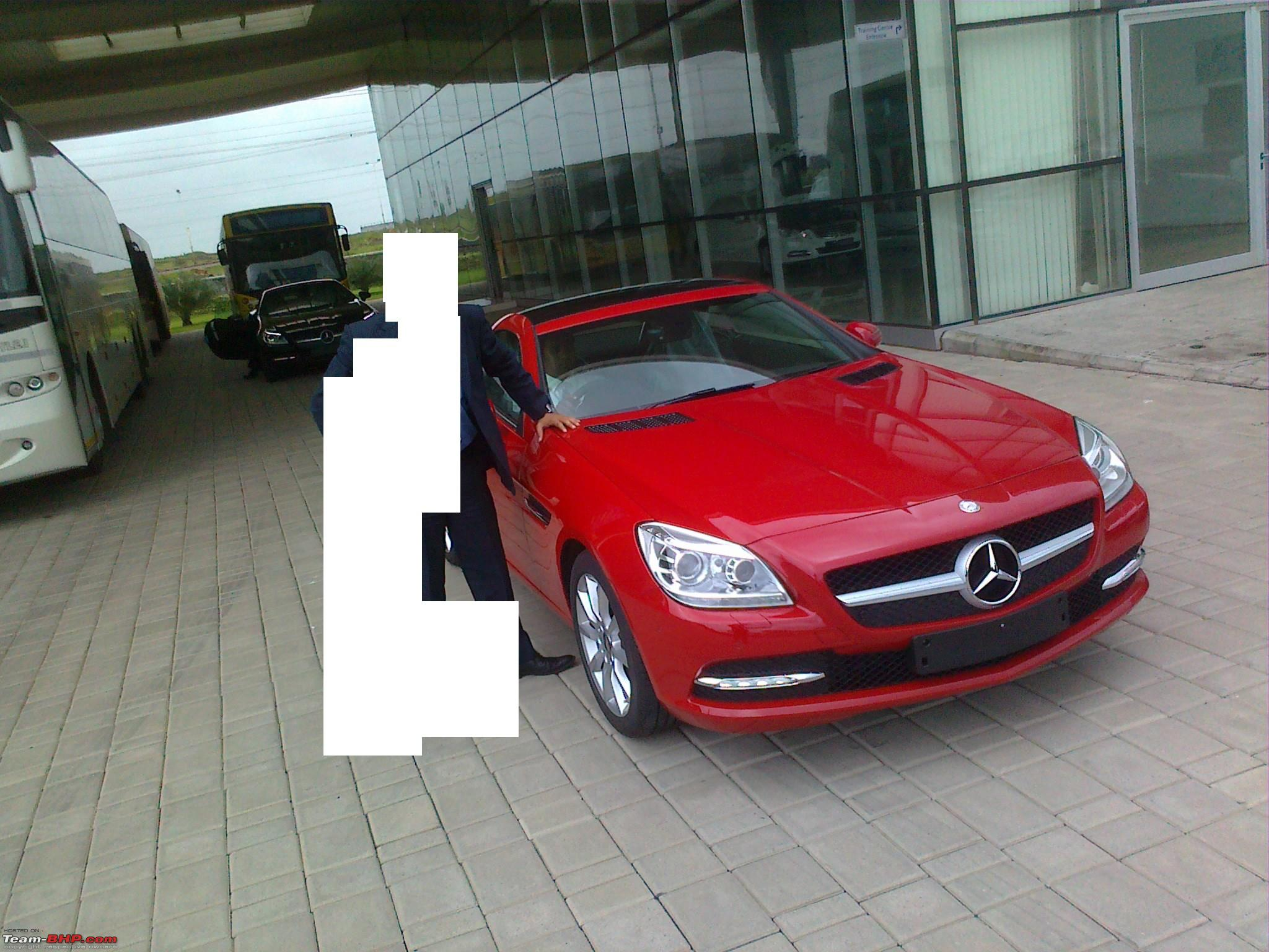 The New Slk 350 R172 Now Launched In India 61 9 Lakh Team Bhp