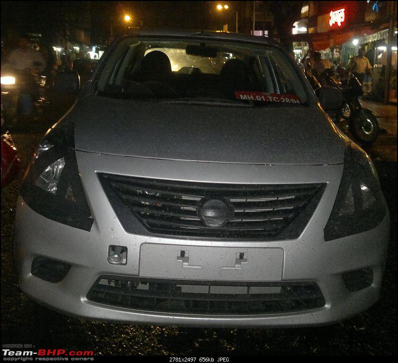 Nissan Sunny unveiled for the the Indian mid-size market.-sunnyfront.jpg