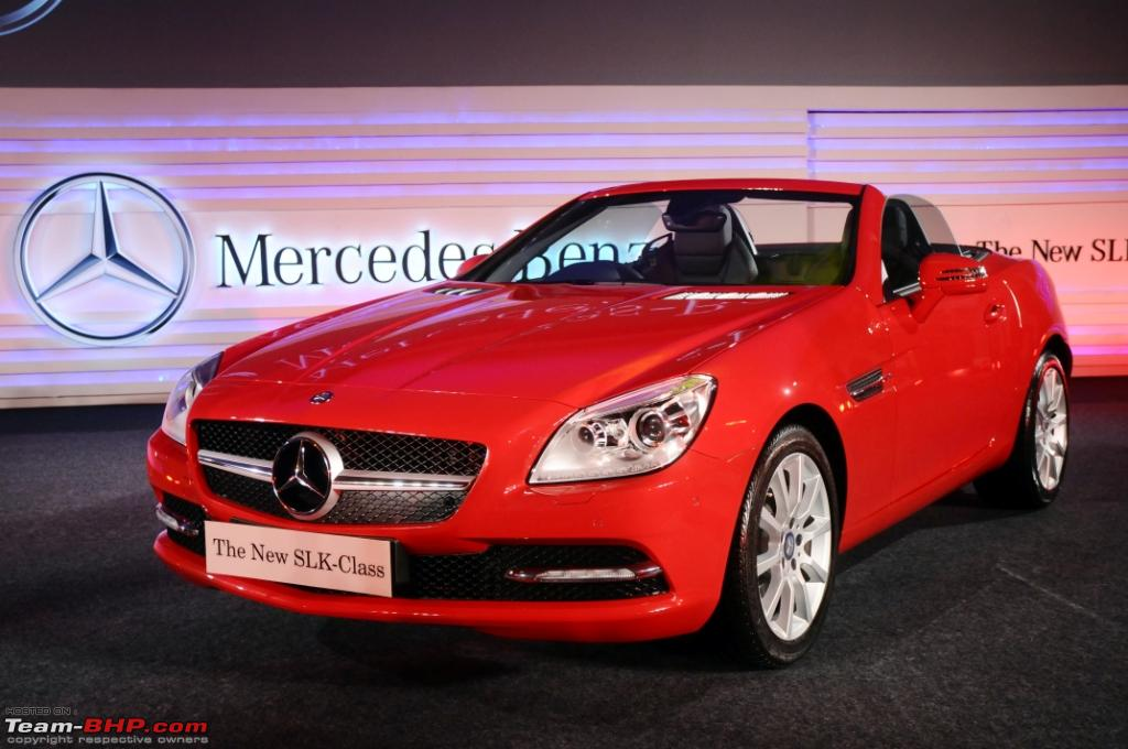 The New Slk 350 R172 Now Launched In India 61 9 Lakh