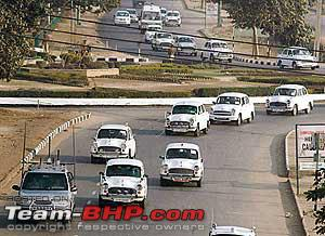 Indian prime minister car convoy