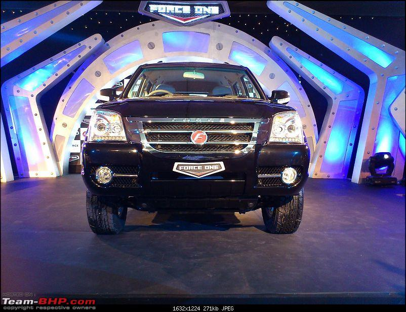 Force Motors SUV to be launched. EDIT: Launched @ 11lac Ex-showroom Mumbai-forceblack1.jpg