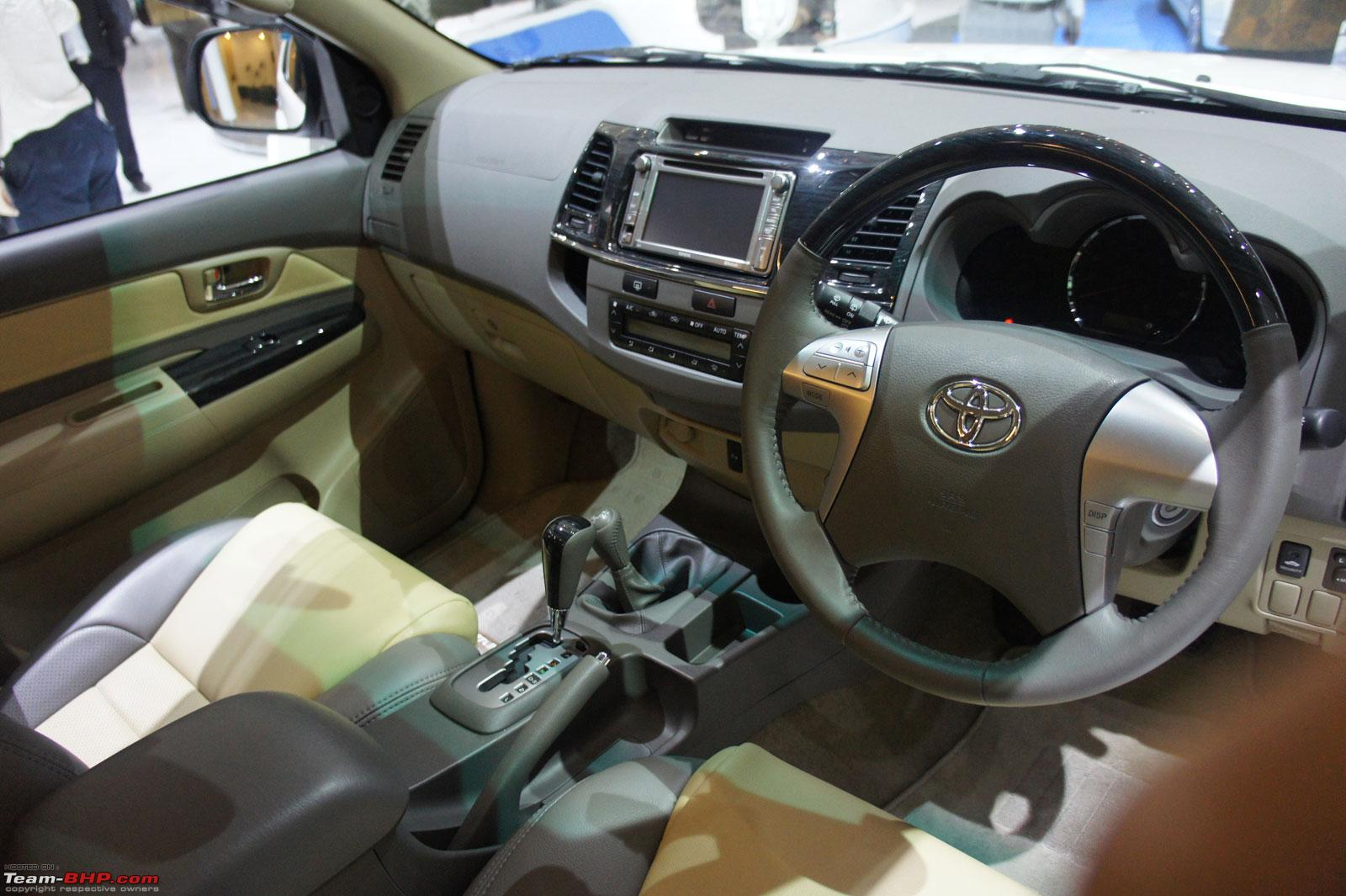 Toyota fortuner facelift spied update uncovered pics on pg 6 fortuner12