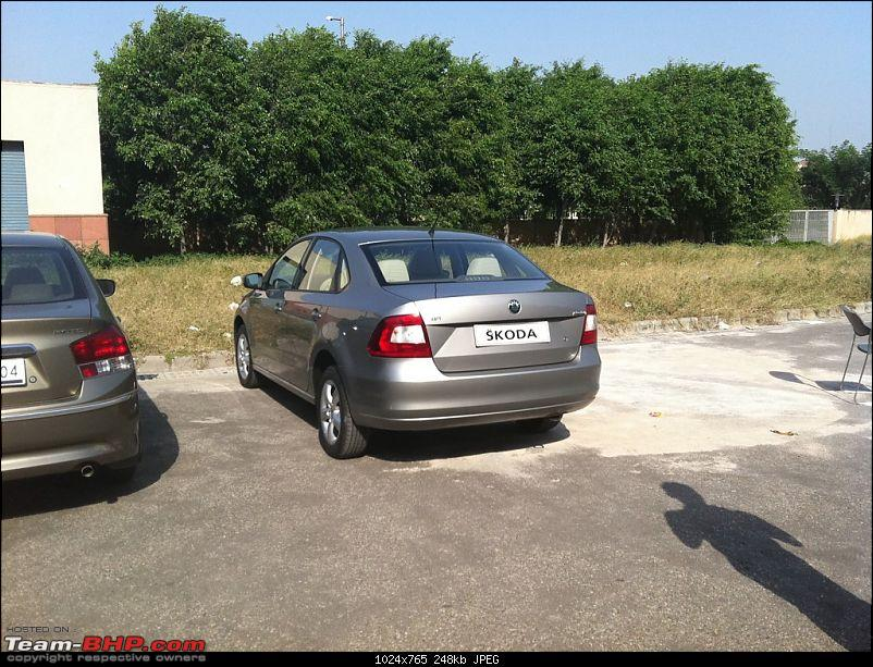 Skoda Rapid based on VW Vento begins production. Launch on 16th November, 2011-rapid2.jpg