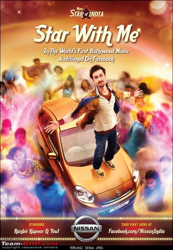 Innovative Automobile promotion & marketing campaigns!-nissan-starofindia_ranbirkapoor.jpg