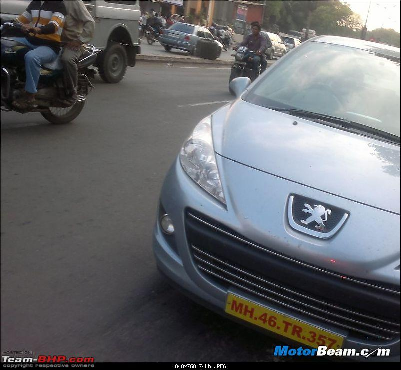 SCOOP Pics : Peugeot (207, 508) spotted testing on the MH Expressway-2012_peugeot_207_front.jpg