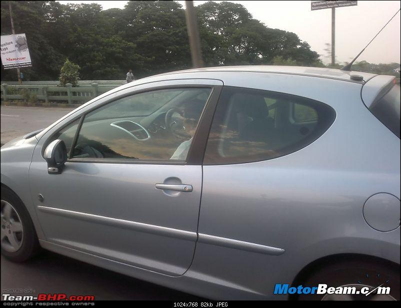 SCOOP Pics : Peugeot (207, 508) spotted testing on the MH Expressway-peugeot_207_side.jpg