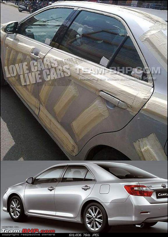 Scoop!! A new D segment car spotted testing. New Toyota Camry??-match-2.jpg