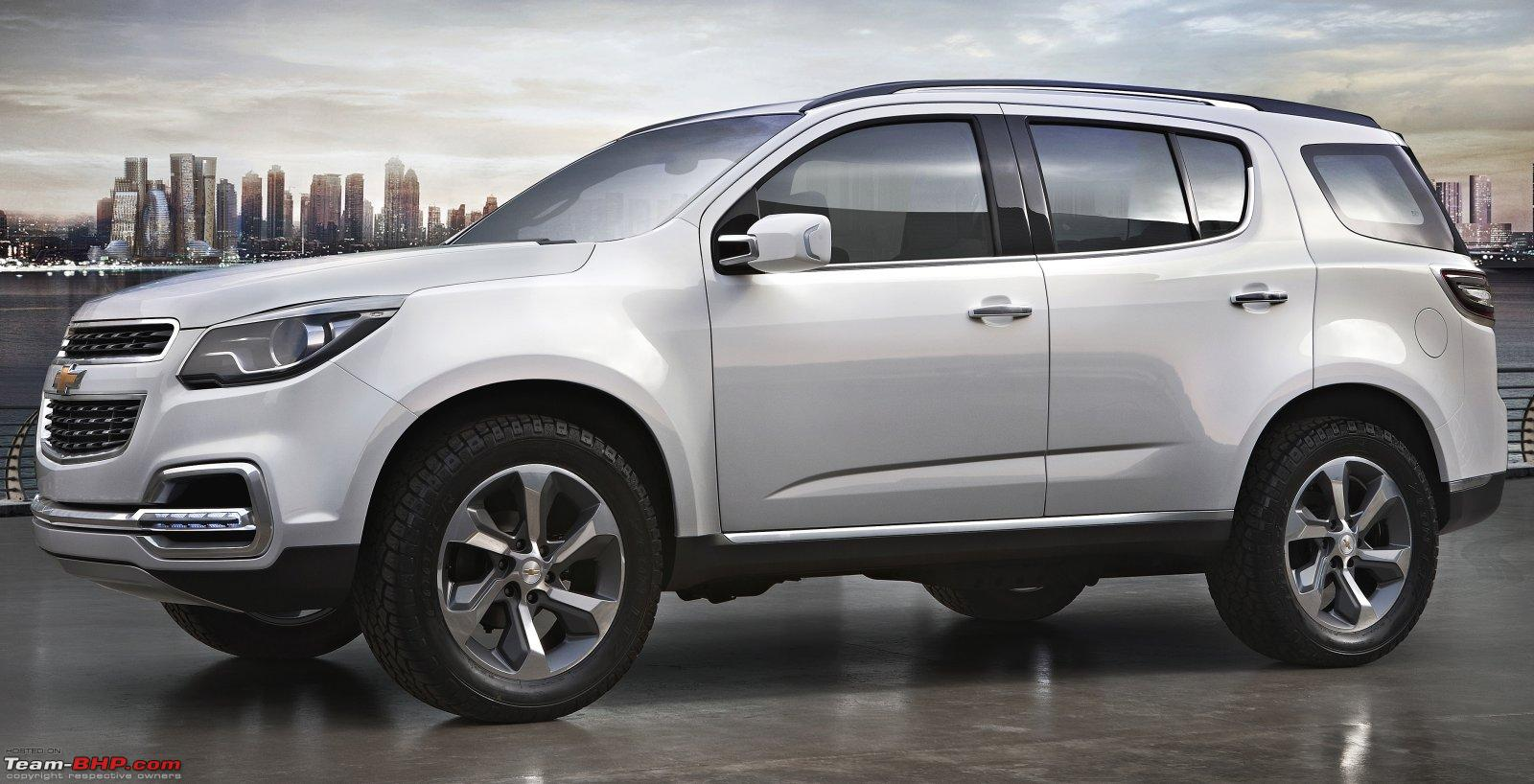 Chevrolet's all-new TrailBlazer SUV debuts. EDIT : Might ...