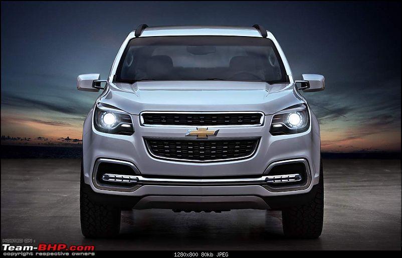 Chevrolet S All New Trailblazer Suv Debuts Edit Might Come To