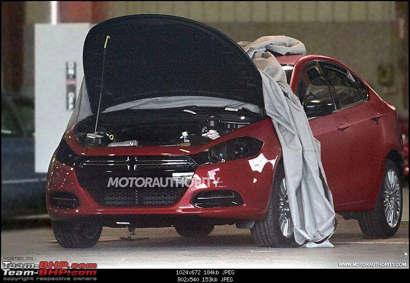 Fiat Linea 2013 - Spy Shot-dodge.jpg