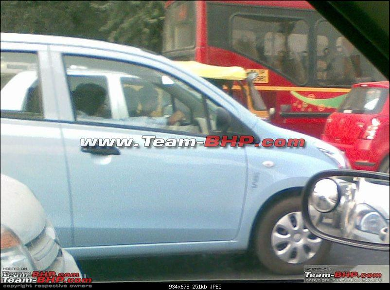 SCOOP Pics! New Maruti Suzuki hatchback spotted testing. Badged as Alto-1.jpg