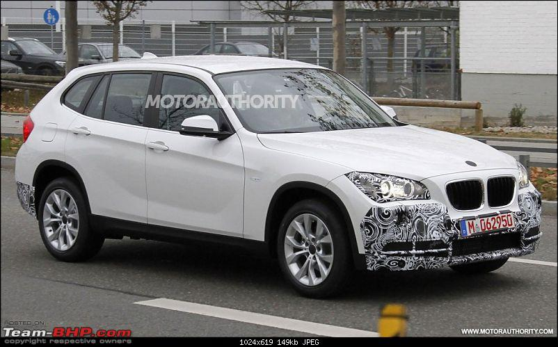 Click image for larger version  Name:	2013bmwx1faceliftspyshots_100372413_l.jpg Views:	N/A Size:	148.6 KB ID:	851724