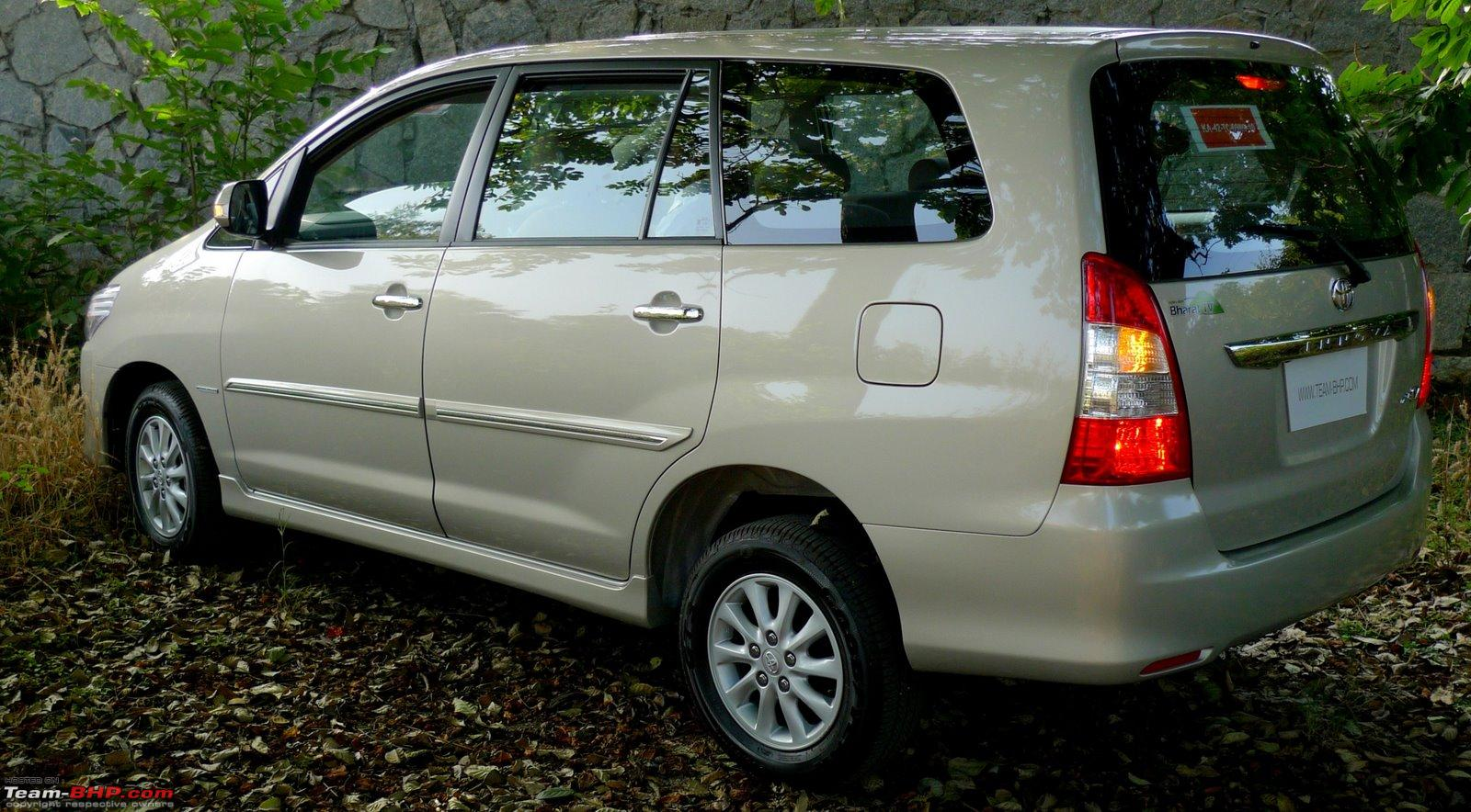 A Close Look At The 2012 Toyota Innova Facelift Team Bhp