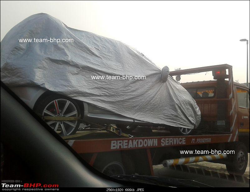 Scoop pics : Small unknown concept under cover *Update* It's the Tata Indica Vista-20120103-14.39.31.jpg