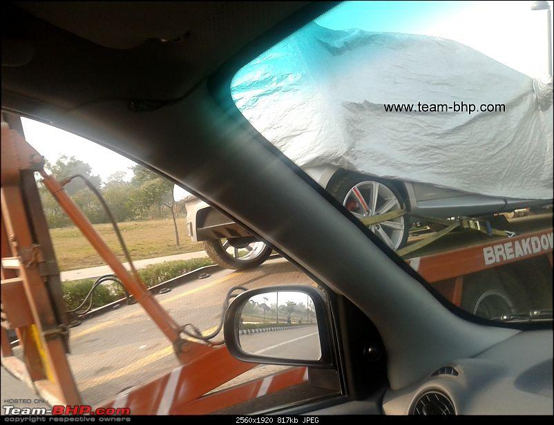 Scoop pics : Small unknown concept under cover *Update* It's the Tata Indica Vista-20120103-14.47.41.jpg